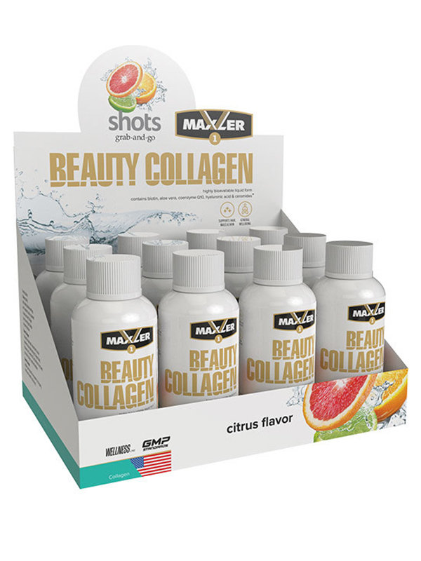 Beauty Collagen Shots, 12шт по 60мл